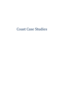 Preview of Coastal zone case studies