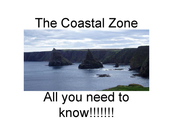 Preview of Coastal Zone Powerpoint