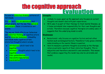 Preview of cognitive approach and evaluation
