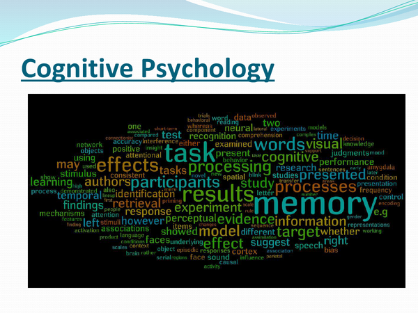 Preview of Cognitive psychology