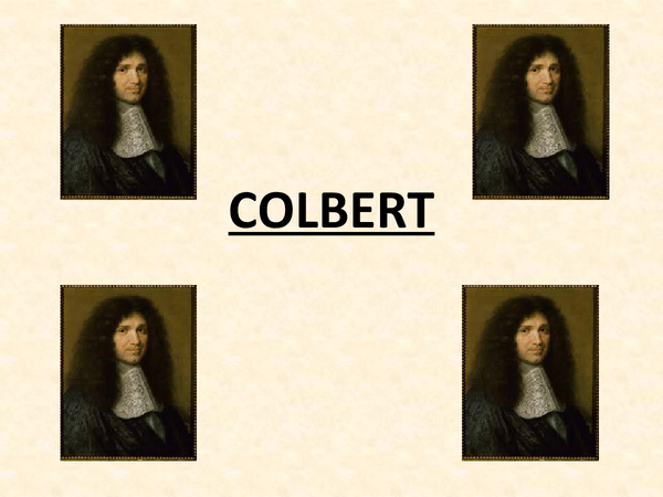 Preview of Colbert - Finance Minister under Louis XIV