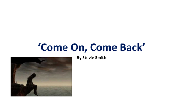 Preview of 'Come On, Come Back' Analysis