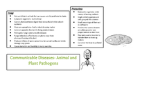 Preview of Communicable Diseases-Types of Pathogens
