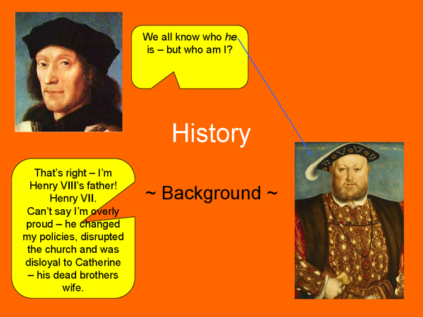 Preview of Comparison between Henry VII and Henry VIII