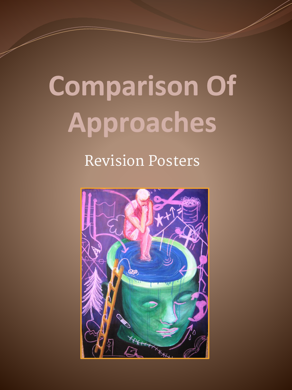 Preview of Comparison Of The Approaches Revision PowerPoint