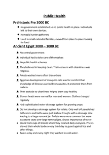 Preview of Complete notes on Public Health