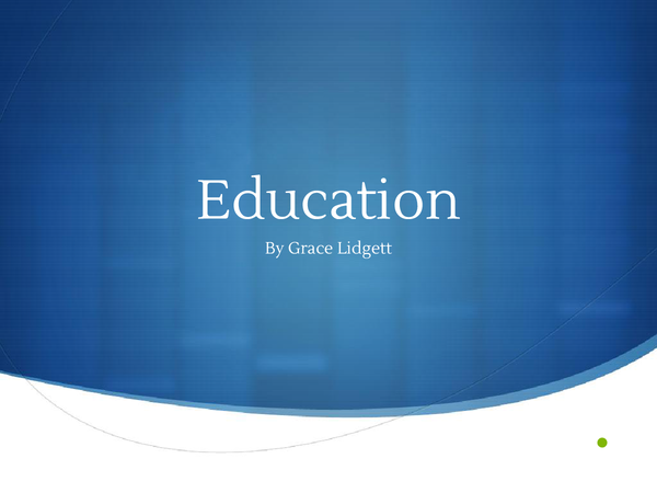 Preview of Complete Education Powerpoint (AQA Govp4)