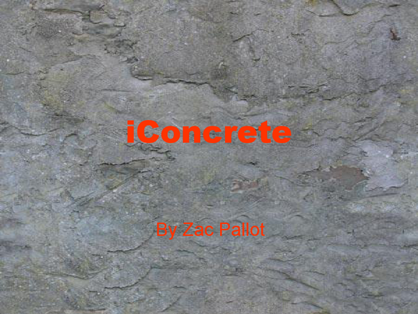 Preview of concrete