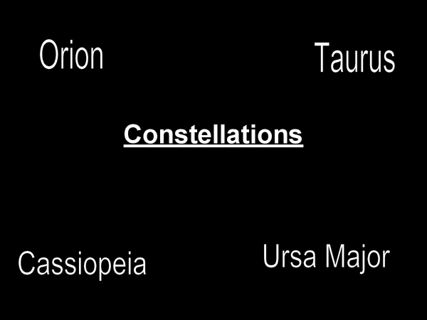 Preview of Constellations