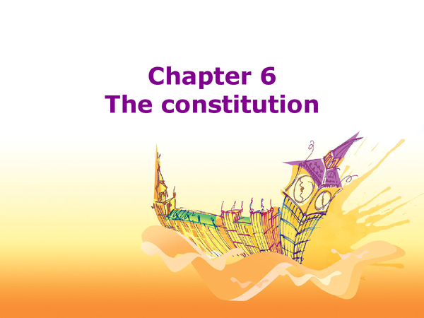 Preview of Constitution