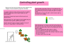 Preview of Controlling plant growth