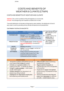 Preview of Costs Benefits Weather Climate