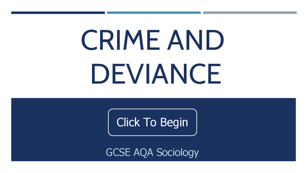 Preview of Crime and Deviance Interactive Presentation