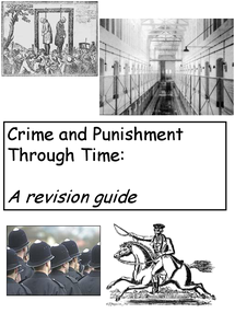 Preview of Crime and Punishment REVISION GUIDE1