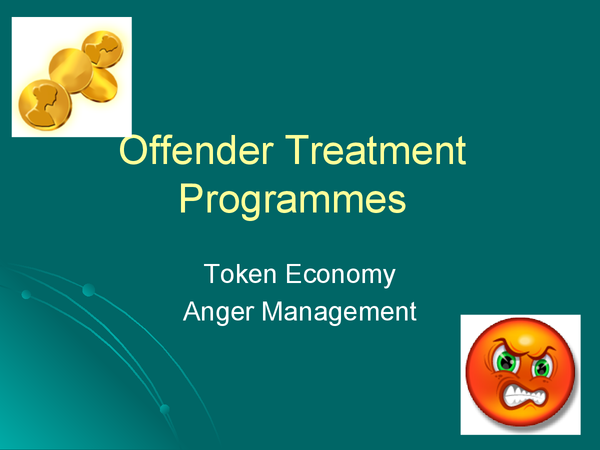 Preview of Offender Treatment Programmes