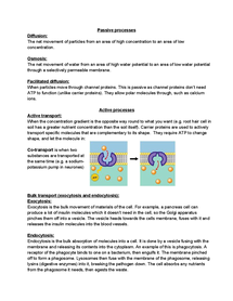 Preview of Crossing cell membranes