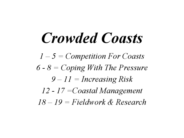 Preview of Crowded Coasts