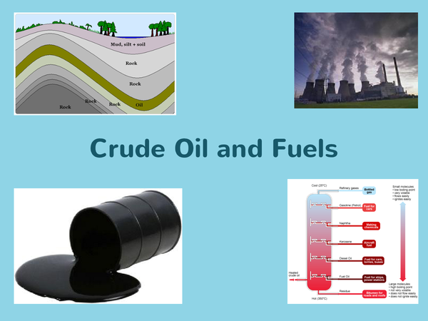 Preview of Crude Oil and Fuels Powerpoint