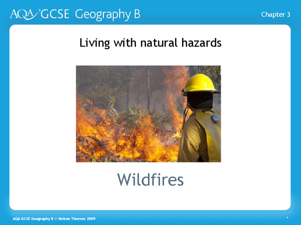 Preview of Damaging effects of Wildfires-AQA Spec B