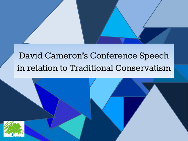 Preview of David Cameron vs. Traditional Conservatism