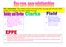 Preview of day care- peer relationships