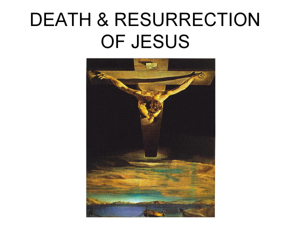 Preview of Death And Resurrection Of Jesus