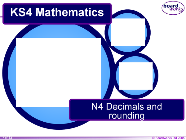 Preview of Decimals and Rounding