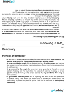 Preview of Democracy-Government & Politics