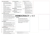 Preview of DEMOCRACY REVISION NOTES 1.1