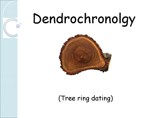 Preview of Dendrochronology
