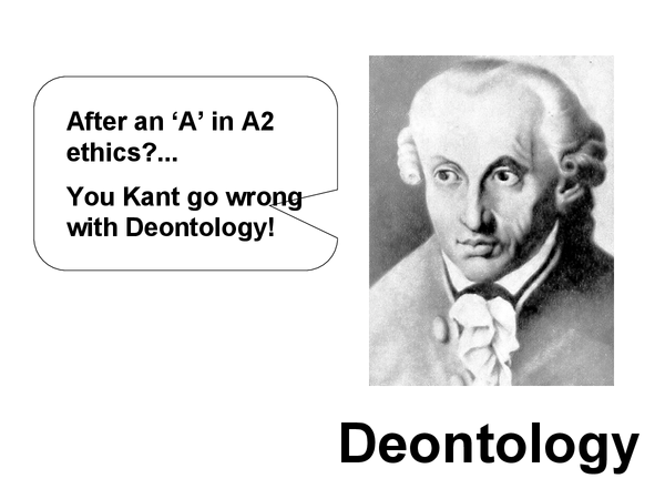 Preview of Deontology
