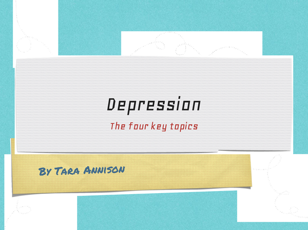 Preview of Depression powerpoint