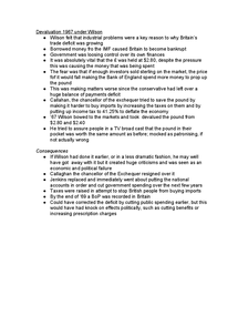 Preview of Devaluation 1967 under Wilson
