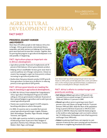 Preview of Development - Agriculture in Africa