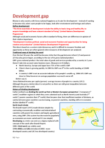Preview of Development notes for aqa spec A including case studies
