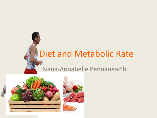 Preview of Diet and Metabolic Rate