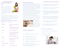 Preview of Dietary needs of a pregnant women and STDs