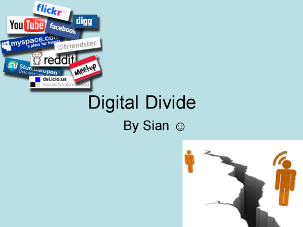 Preview of Digital Divide