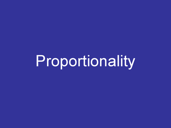 Preview of Direct and Inverse proportionality