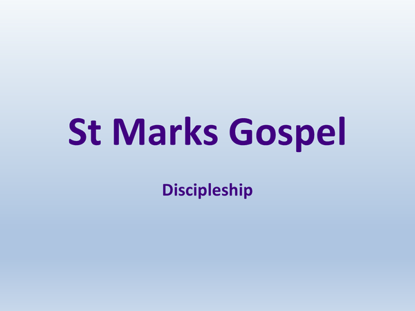 Preview of Discipleship - Topic 6 // UNIT 5