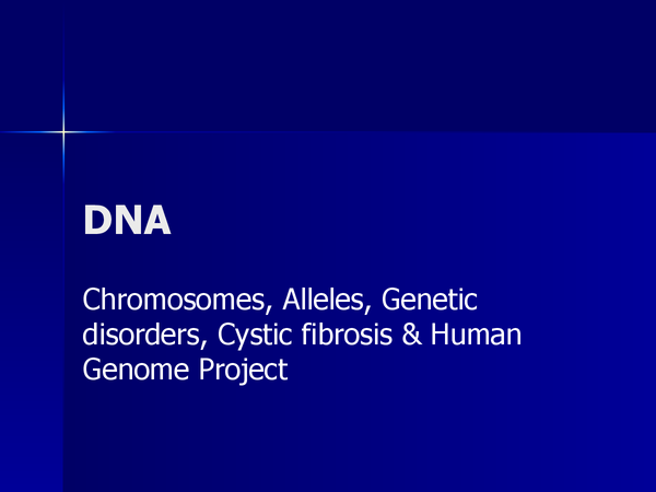 Preview of DNA