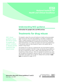 Preview of drug misuse psychological