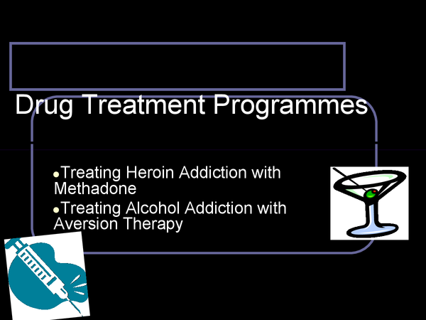 Preview of Drug Treatment Programmes