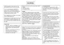 Preview of Duress Summary