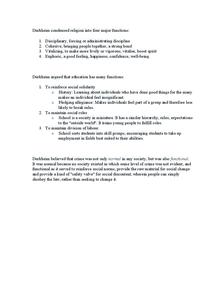Preview of Durkheim Condensed