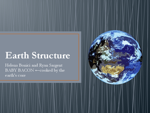 Preview of Earth Structure
