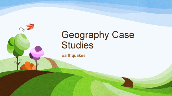 Preview of Earthquake Case Studies