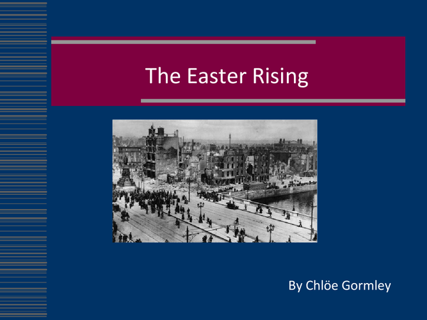 Preview of Easter Rising powerpoint