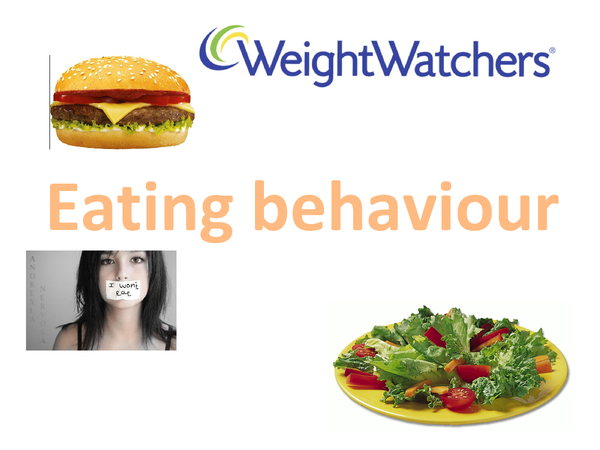 Preview of Eating Behaviour - AQA unit 3 psychology