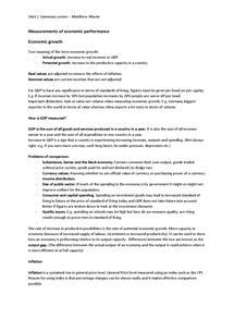 Preview of Economcs Unit 2 Edexcel complete notes